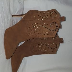 Michael Kors boots brown with gold